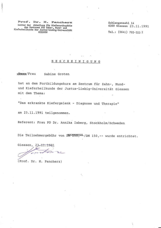 Kieferorthopädin München Nymphenburg Moosach Dr. Groten